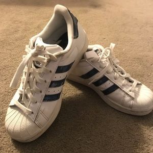 Adidas Superstar White Sneakers - WORN ONCE